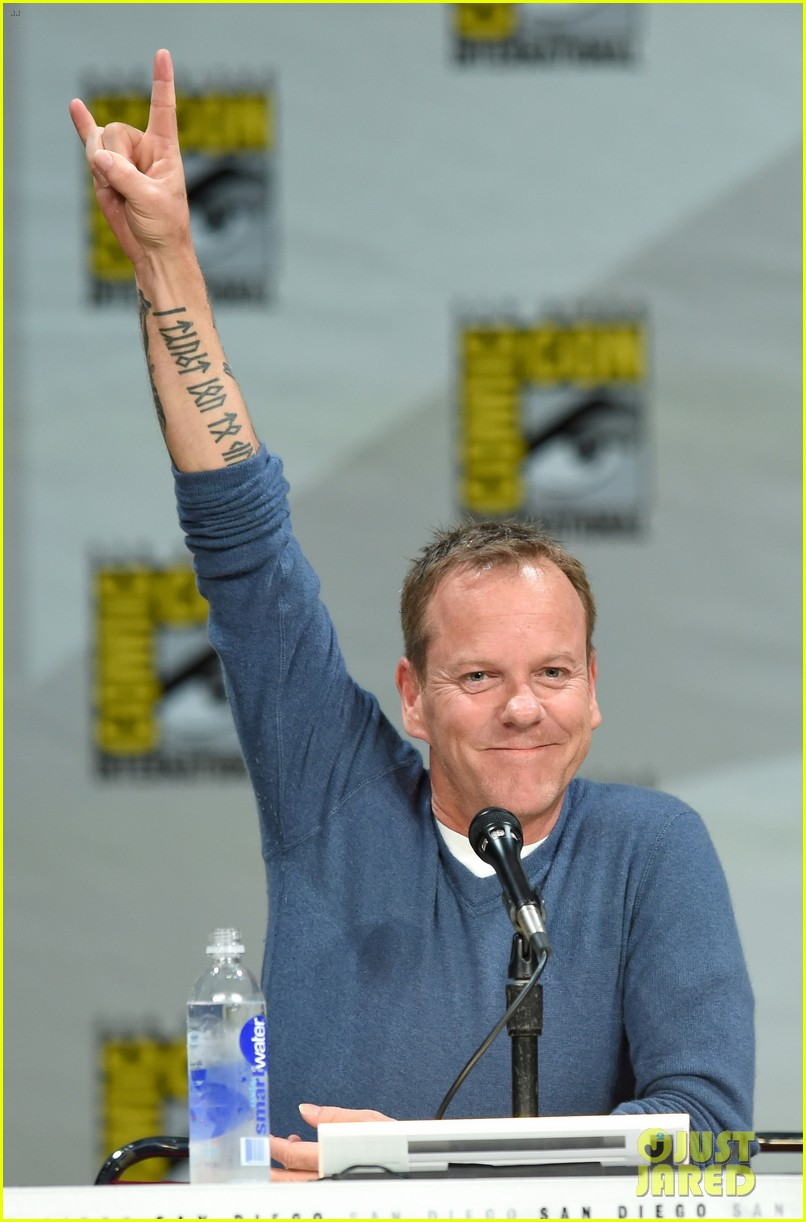 kiefer sutherland eric dane promote their shows at comic con 2014 143163600