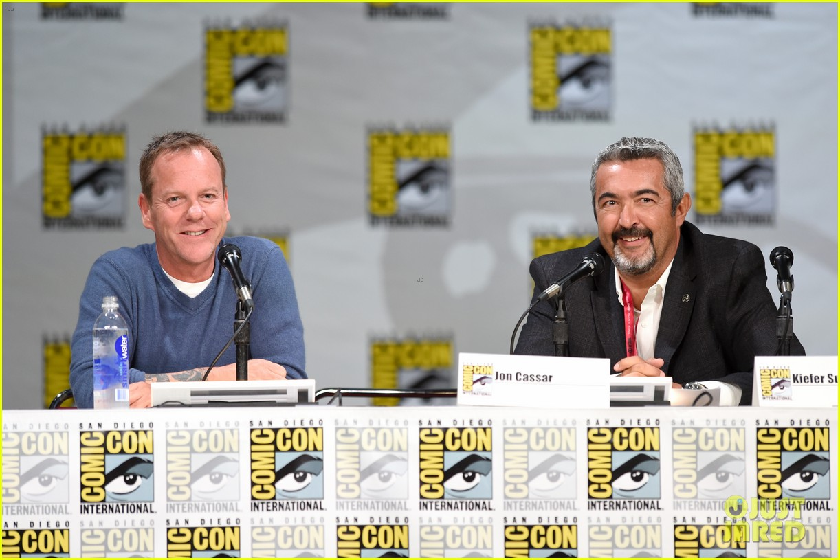 kiefer sutherland eric dane promote their shows at comic con 2014 153163601