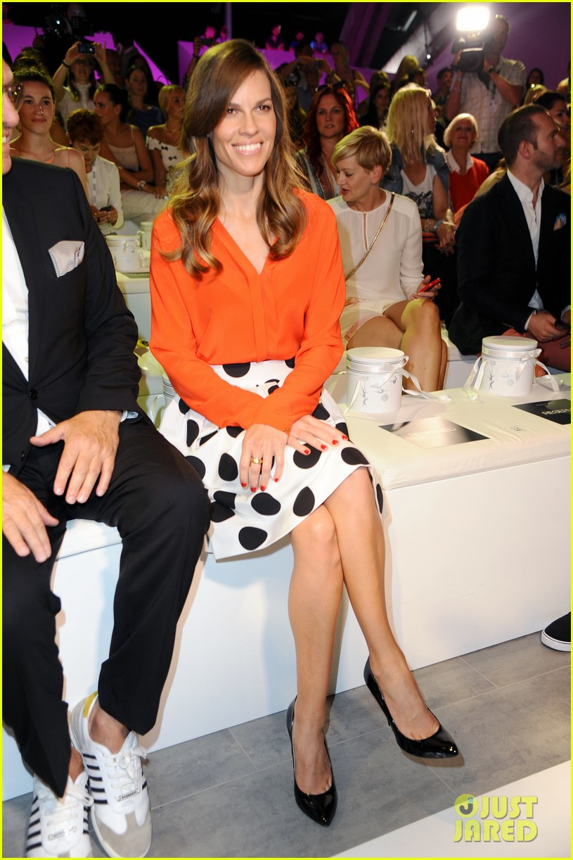 hilary swank marcia cross get dolled up for marc cain 153153595