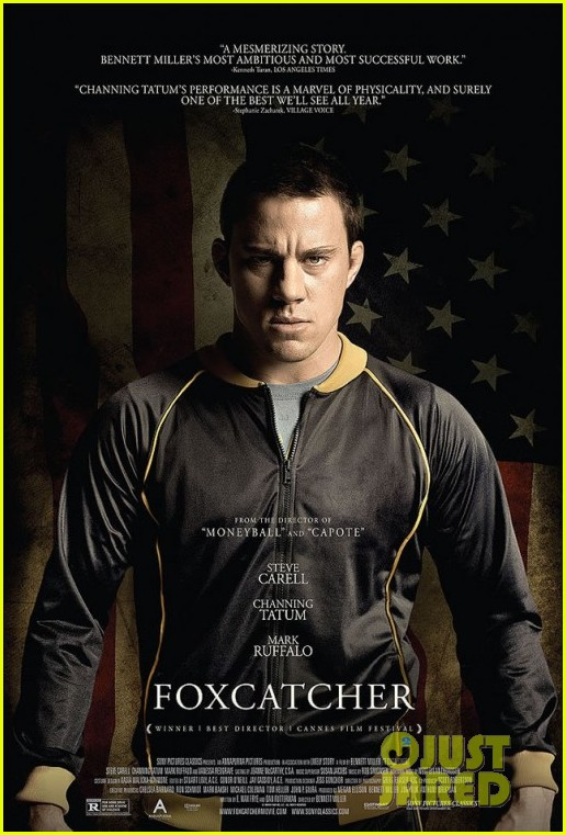 channing tatum breaks a mirror with his head in foxcatcher trailer 013148435