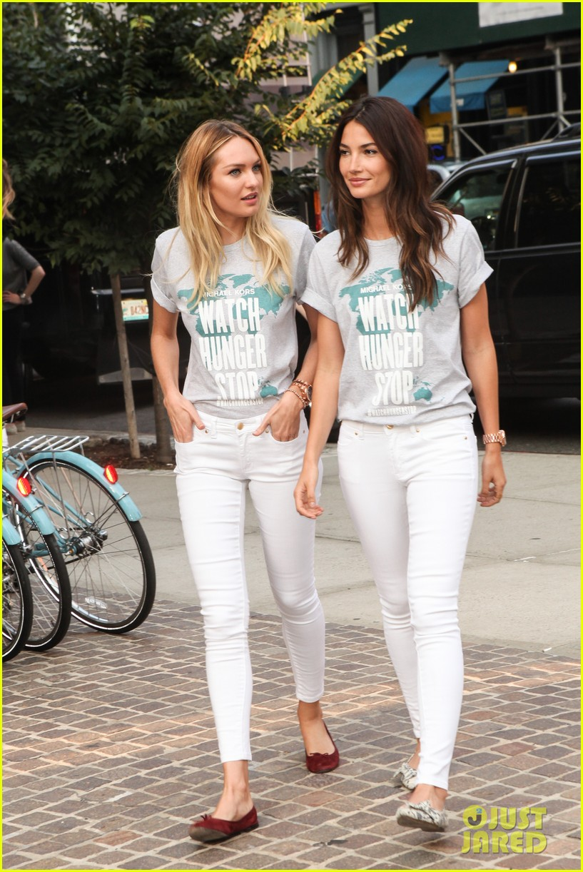 lily aldridge candice swanepoel chrissy teigen watch hunger stop photo shoot 073167811