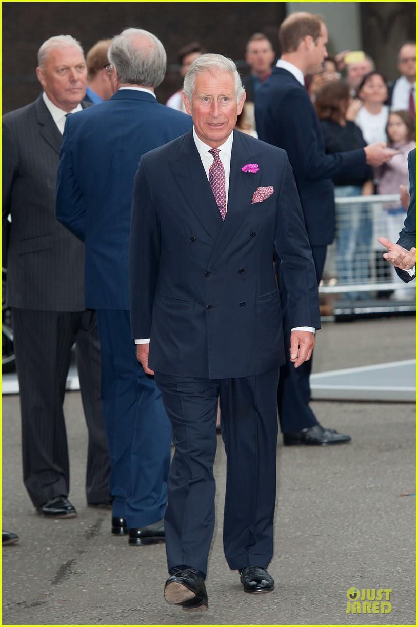 prince william harry accompany dad charles to business gala 033151992