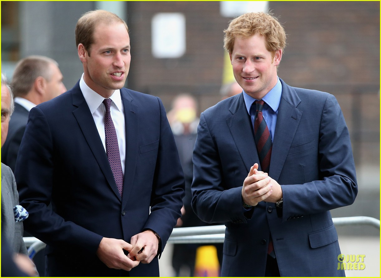 prince william harry accompany dad charles to business gala 043151993