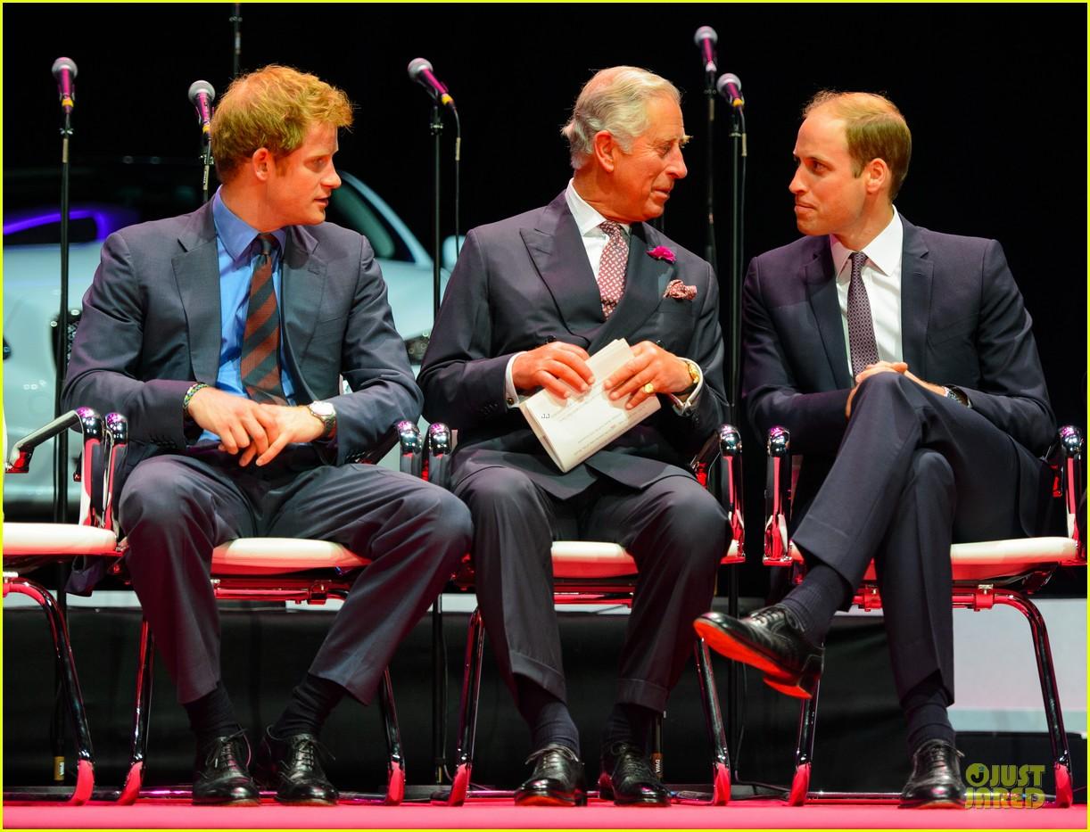 prince william harry accompany dad charles to business gala 073151996