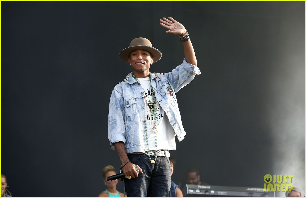 pharrell williams nordoff robbins audi event 063150467