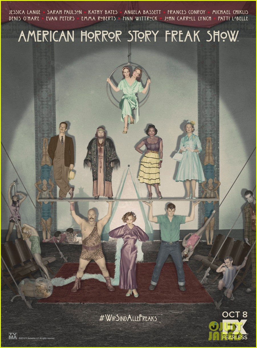 american horror story freak show poster3185588