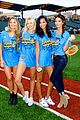 lily aldridge gigi hadid throw out first pitch at baseball game 17