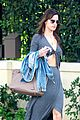 alessandra ambrosio flaunts flat tummy in maxi dress 16