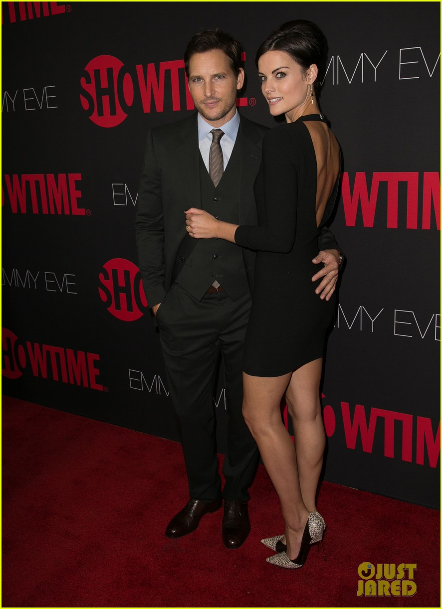 peter facinelli jaimie alexander step out in style for showtimes emmy eve 043182872