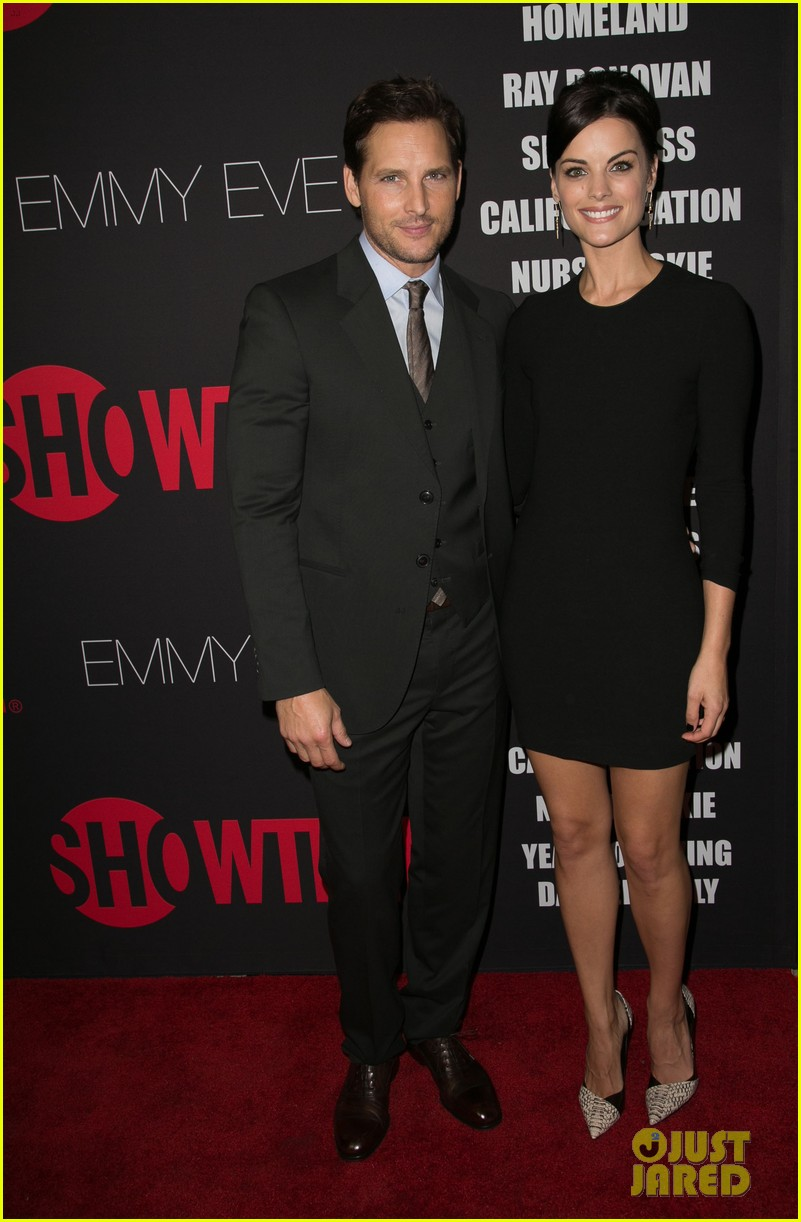 peter facinelli jaimie alexander step out in style for showtimes emmy eve 313182899