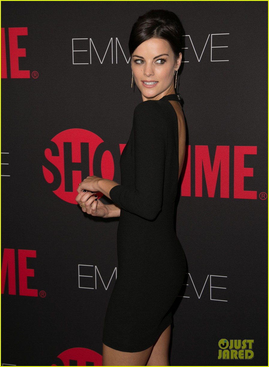 peter facinelli jaimie alexander step out in style for showtimes emmy eve 363182904