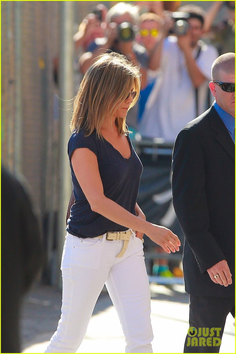 jennifer aniston jimmy kimmel live 043185066