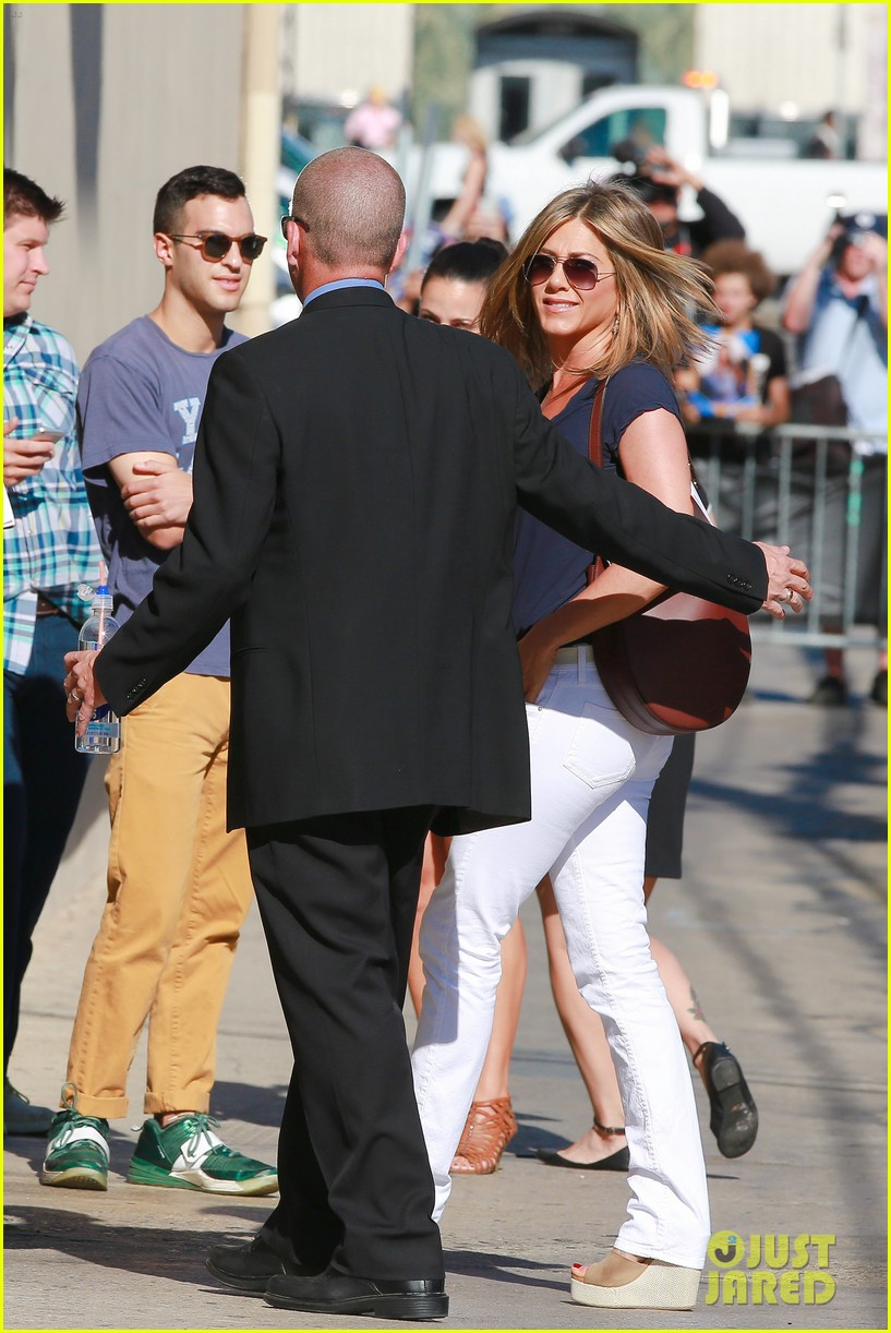 jennifer aniston jimmy kimmel live 053185067