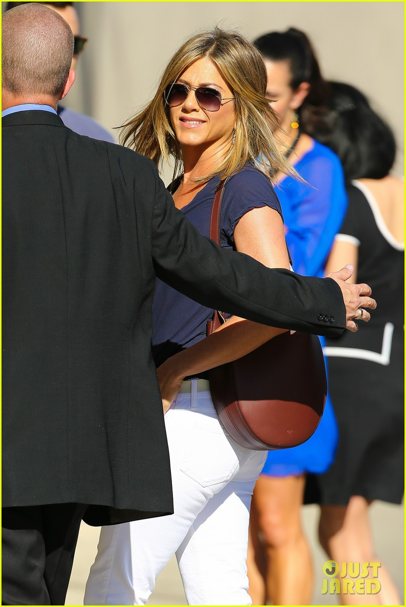 jennifer aniston jimmy kimmel live 08