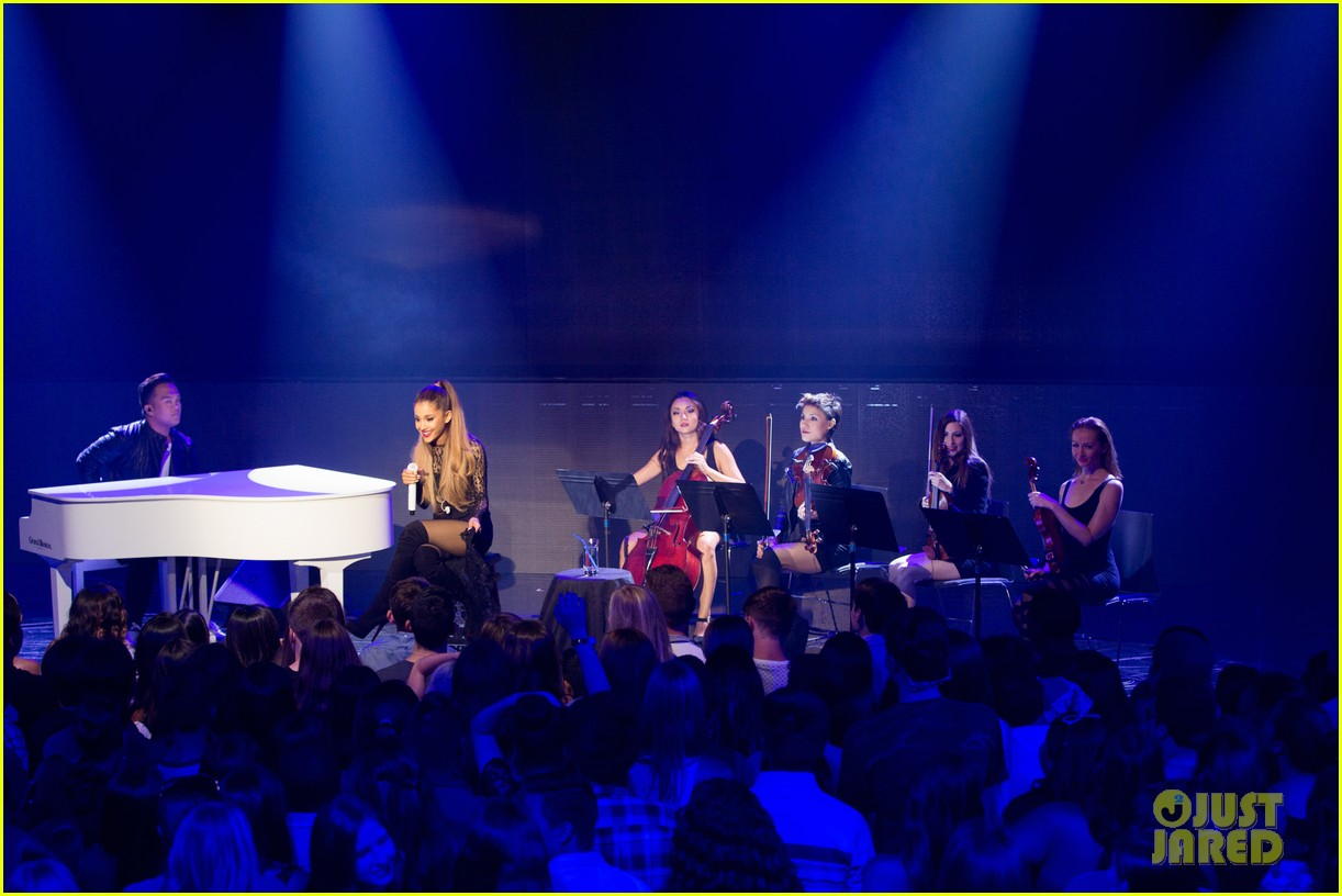 ariana grande iheart album release party pics 273184252