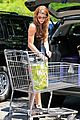 ashley greene dresses up grocery shopping 02