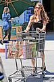ashley greene dresses up grocery shopping 06