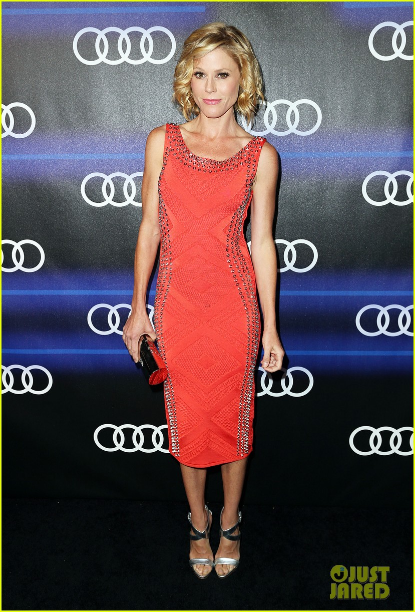 julie bowen sarah hyland heat up the audi emmys party 183180856