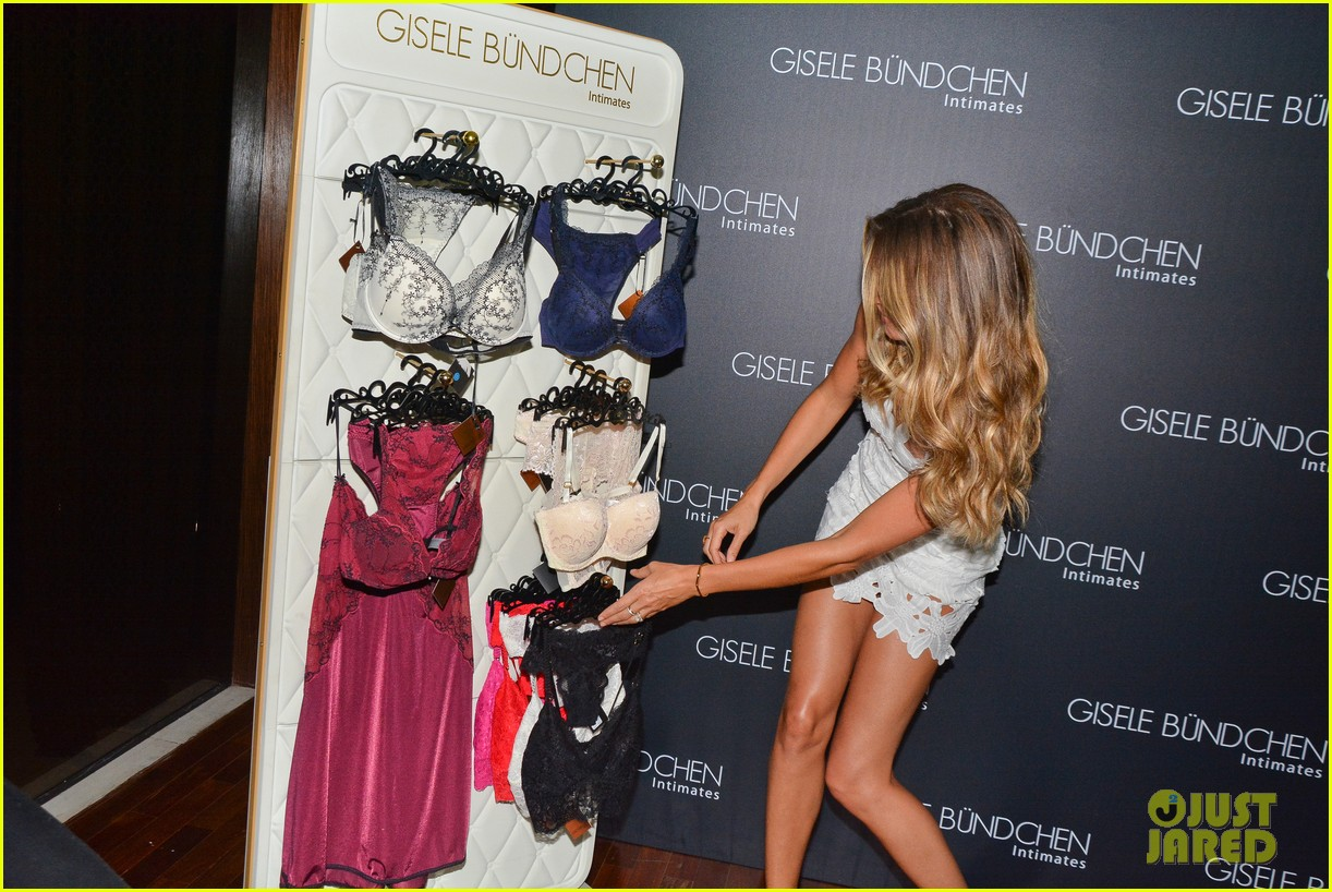 gisele bundchen launches her intimates line in brazil 043184594