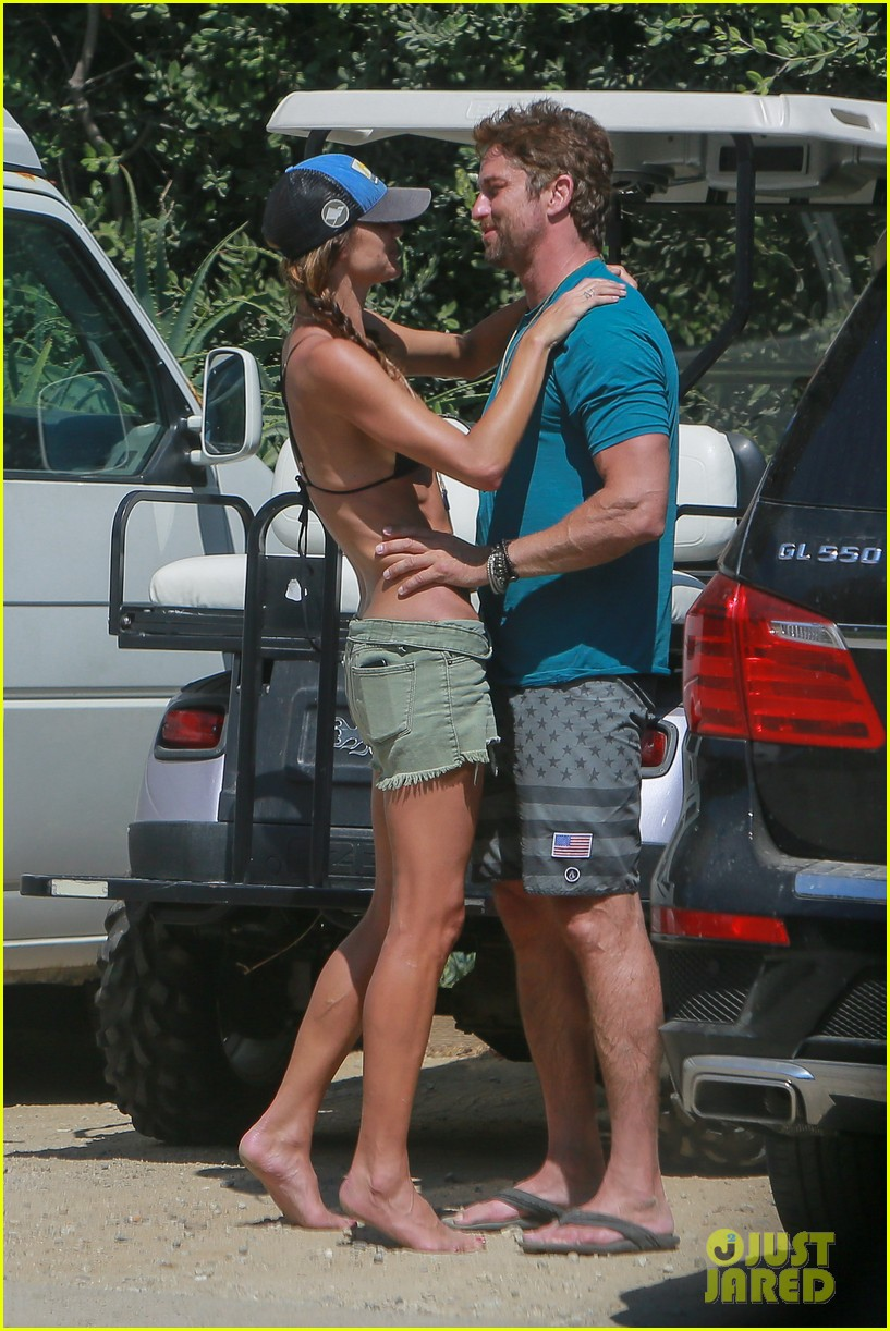 gerard butler cant keep his hands off his mystery girl 453183143
