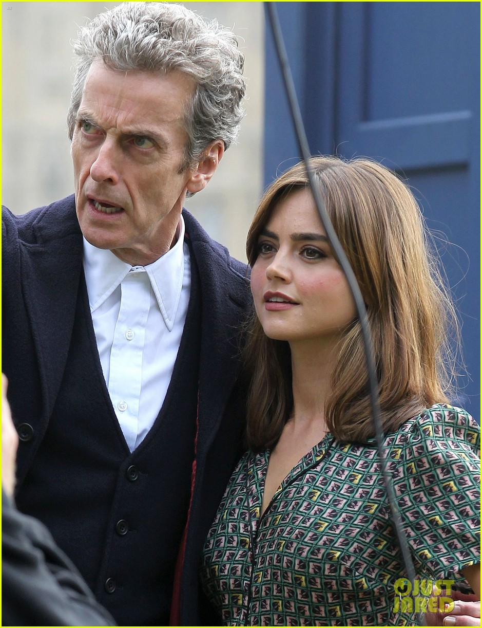 jenna coleman peter capaldi bbc itv photo call london 083180959