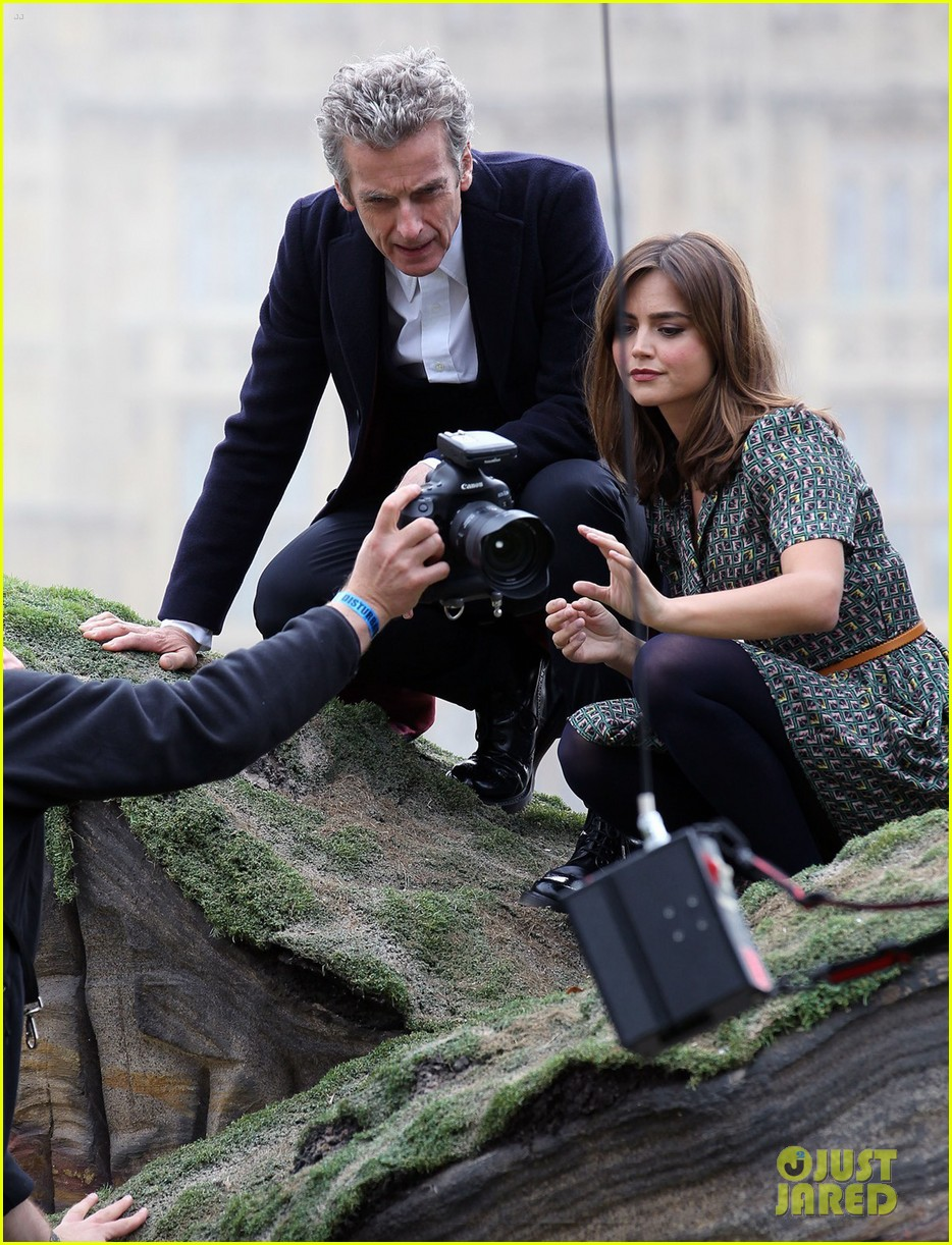 jenna coleman peter capaldi bbc itv photo call london 153180966