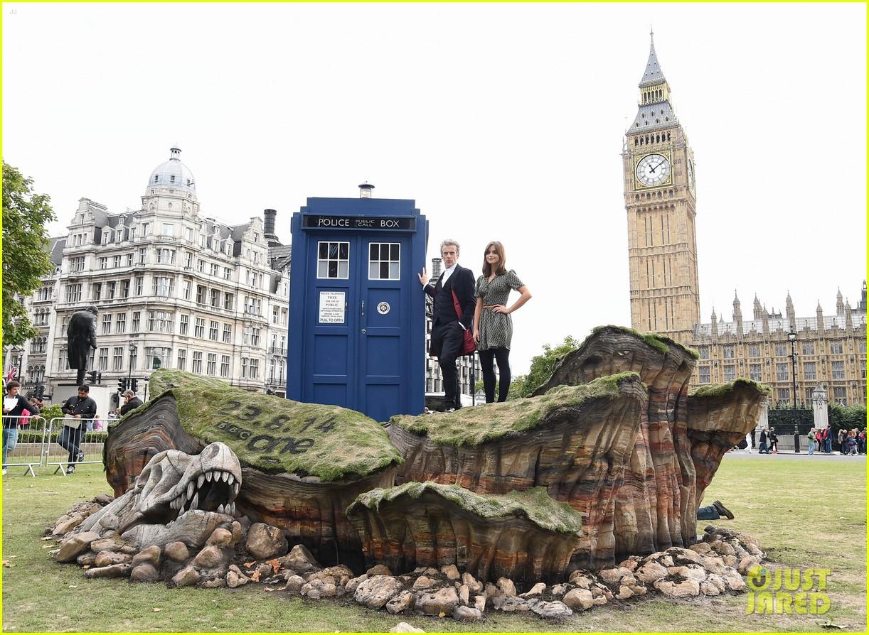 jenna coleman peter capaldi bbc itv photo call london 183180969