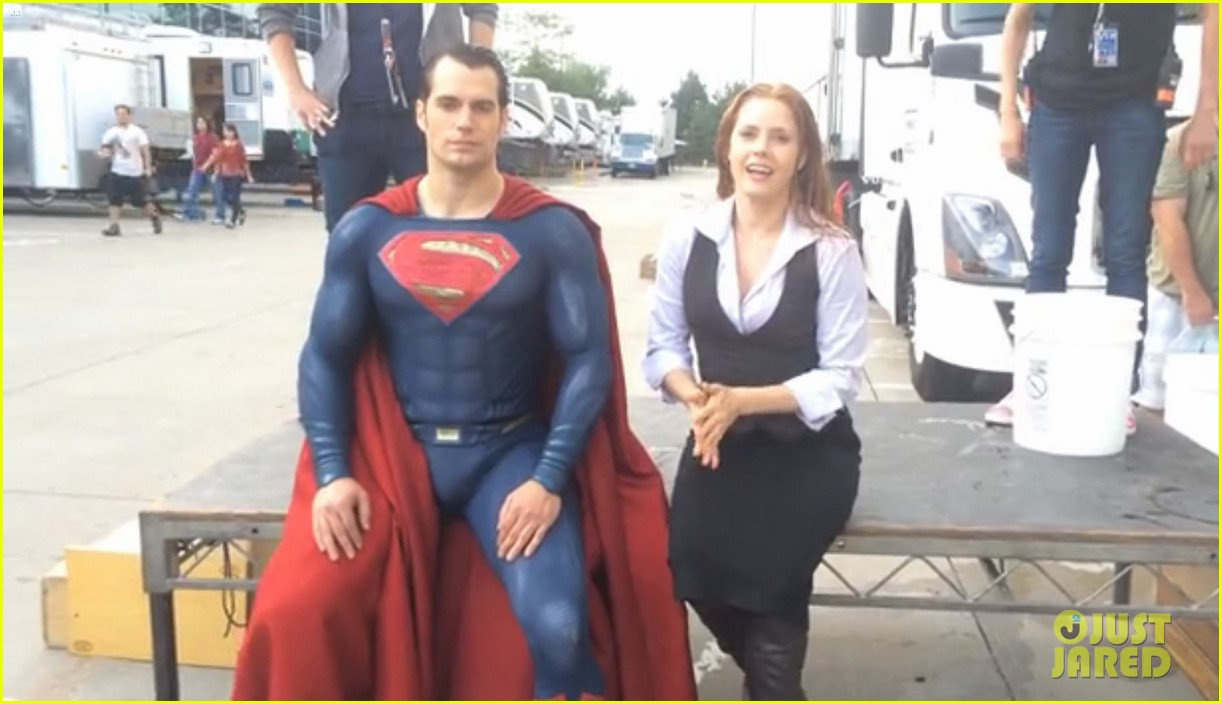 henry cavill amy adams superman ice bucket challenge 013184205