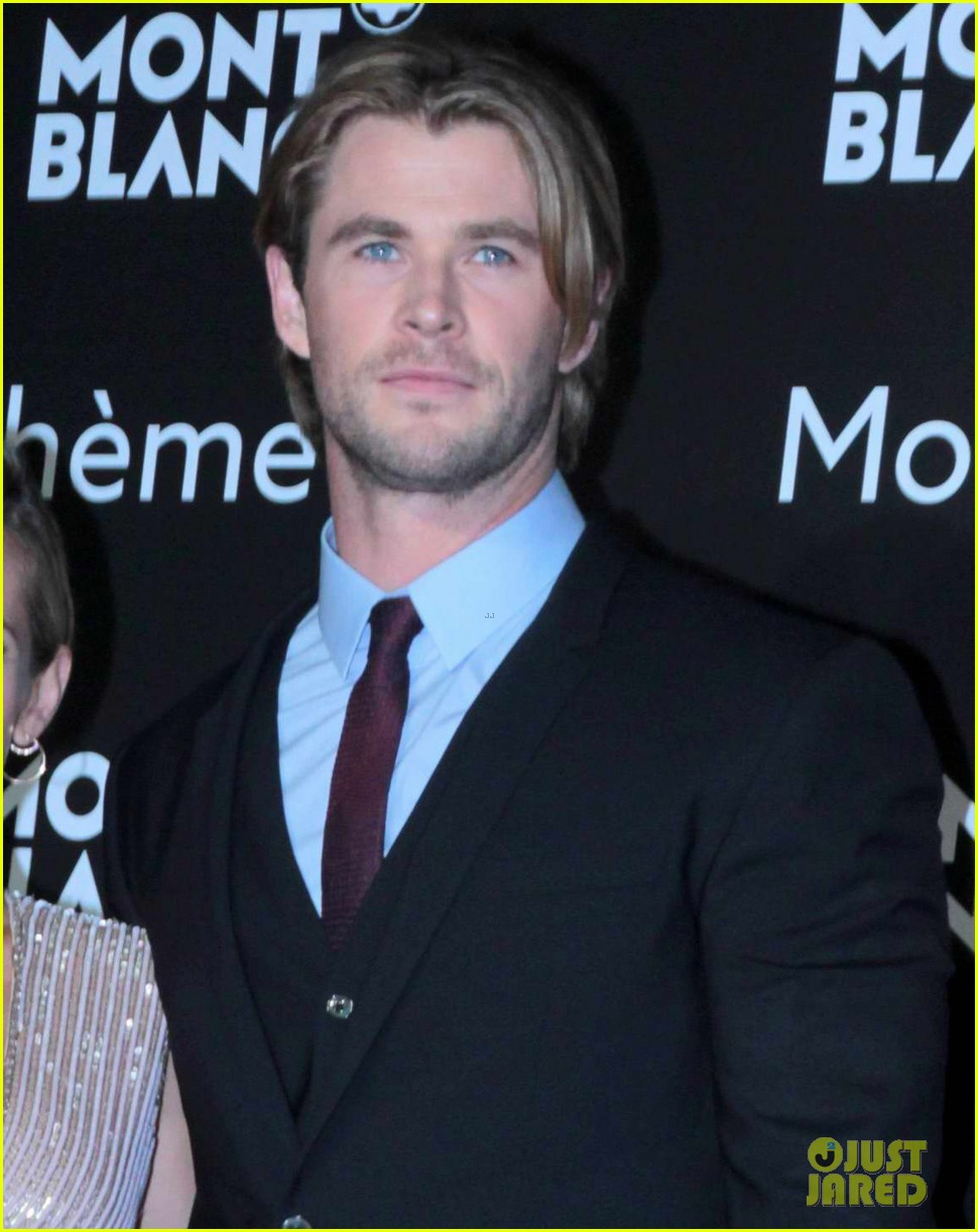 chris hemsworth montblanc boheme collection launch shanghai 043186607