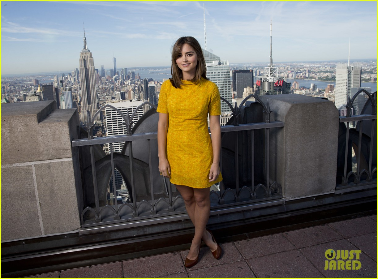 jenna coleman leaving doctor who press conference 033178307
