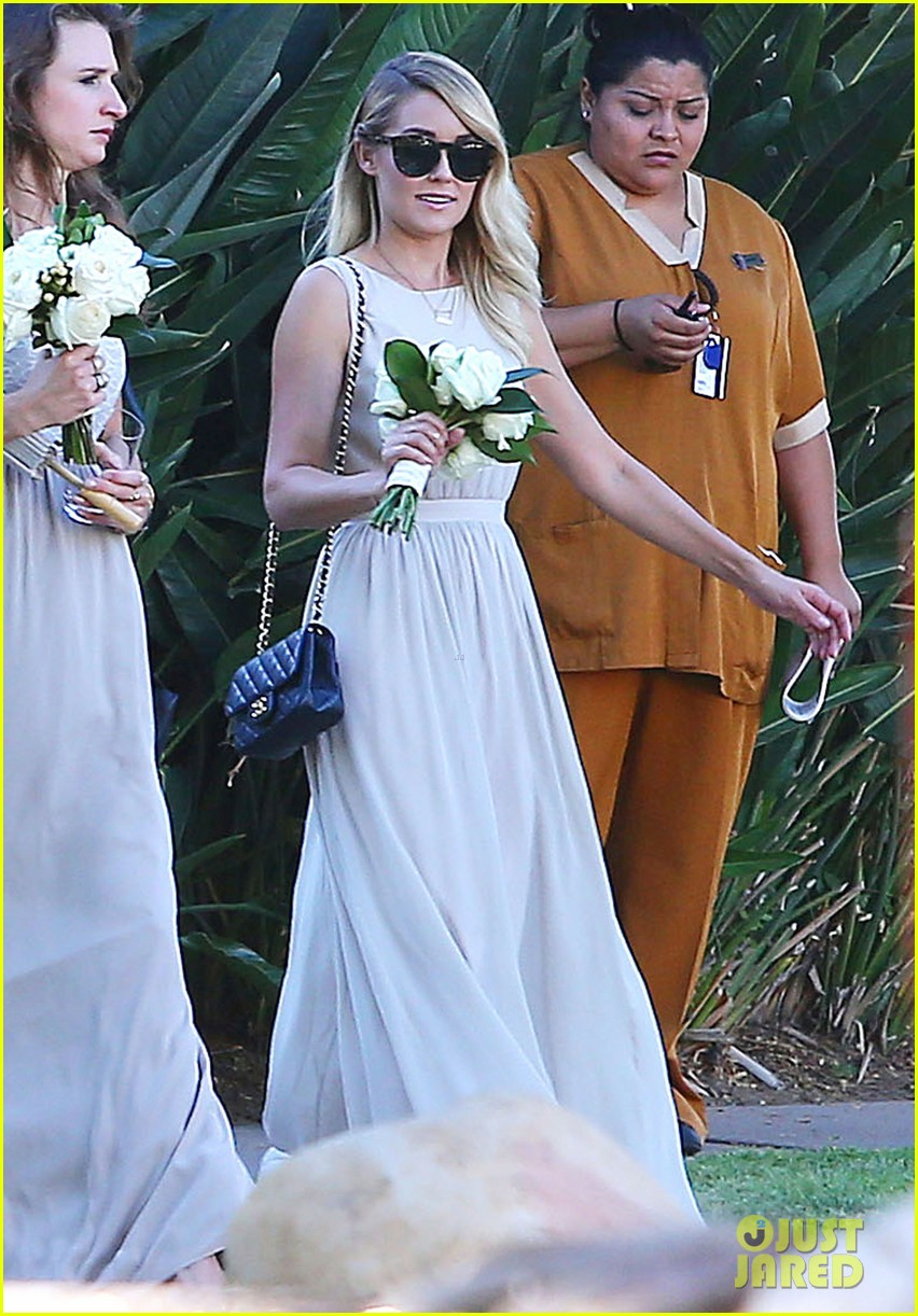 Lauren Conrad Walks Down the Aisle as a Bridesmaid in Friend's Wedding ...