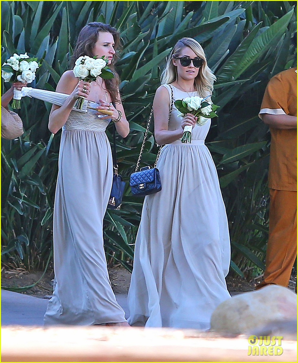 lauren conrad lo bosworth wedding bridesmaids 083178086