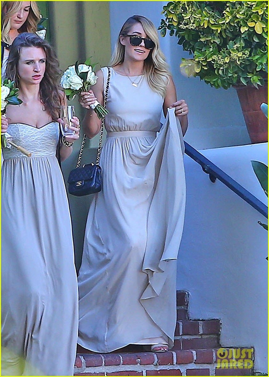 Lauren Conrad Walks Down The Aisle As A Bridesmaid In Friend S Wedding Photo 3178088 Lauren Conrad Pictures Just Jared