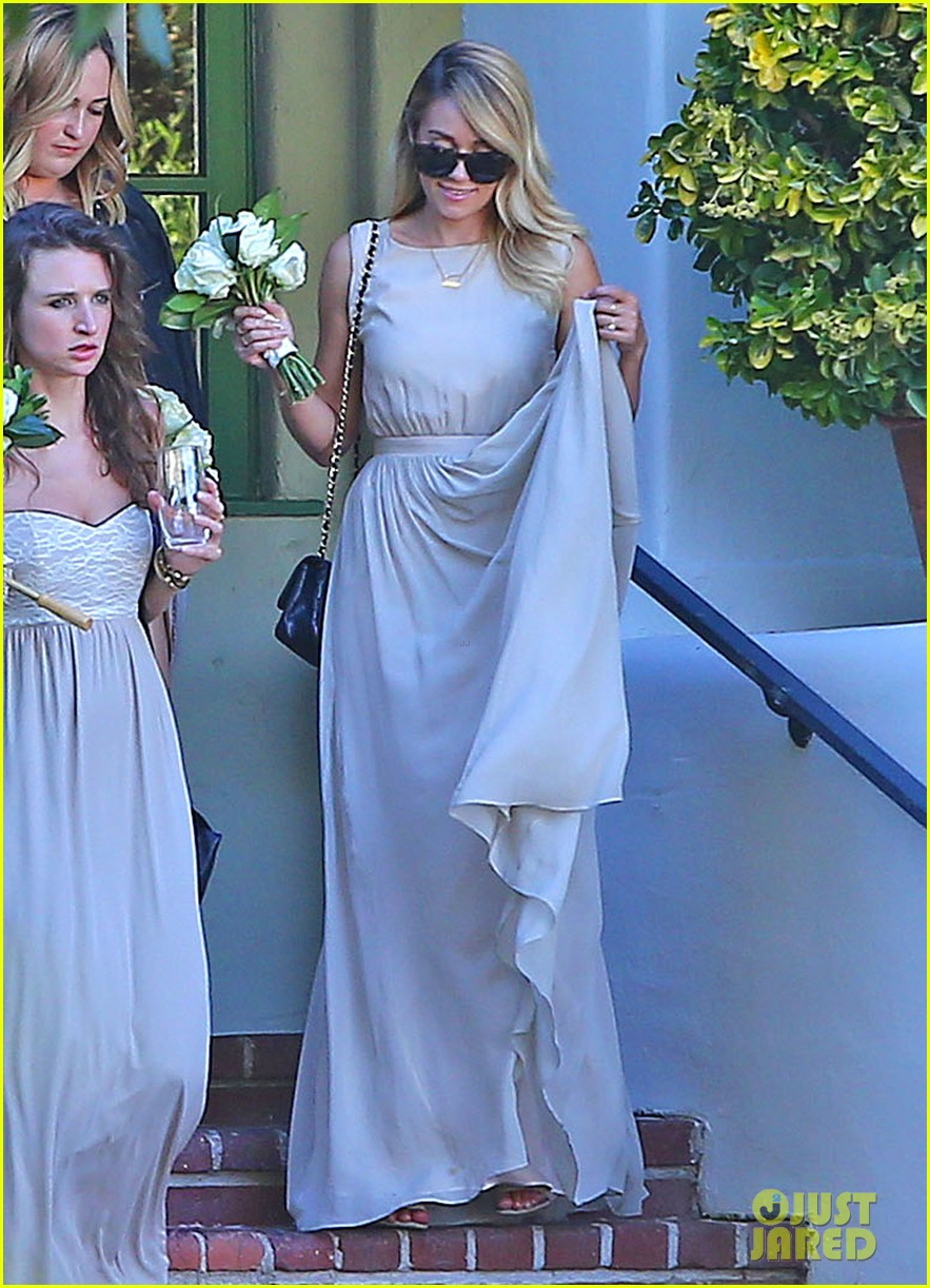 lauren conrad lo bosworth wedding bridesmaids 123178090