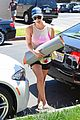 kaley cuoco changes it up at yoga session 08