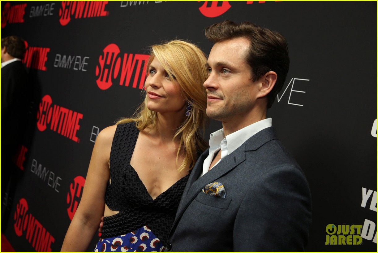 claire danes hugh dancy are the cutest couple at showtimes emmy eve 213182938