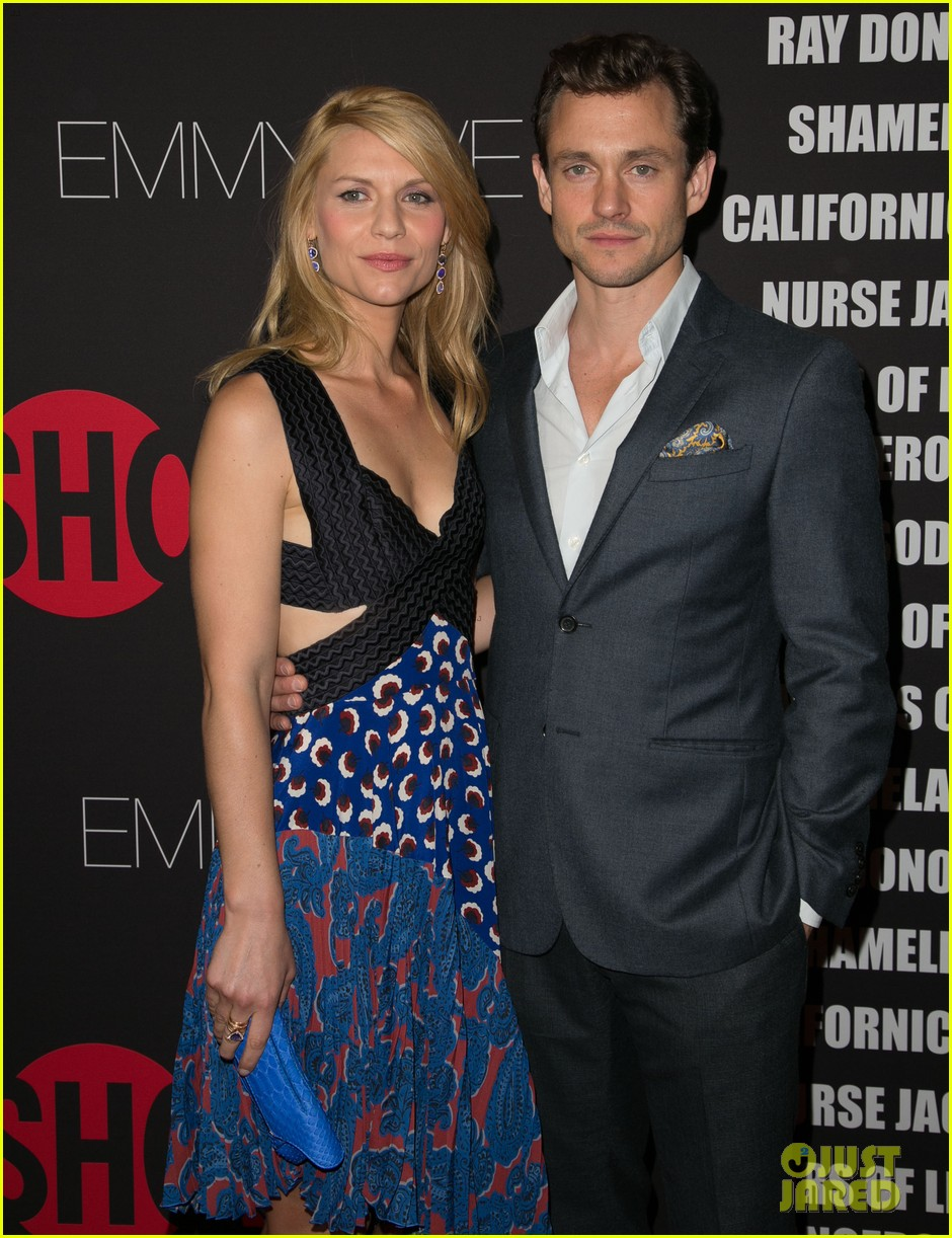 claire danes hugh dancy are the cutest couple at showtimes emmy eve 273182944