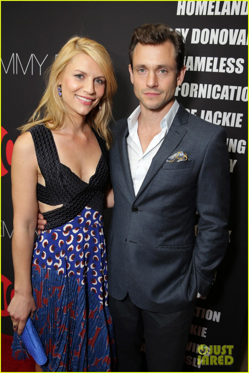 claire danes hugh dancy are the cutest couple at showtimes emmy eve 403182957