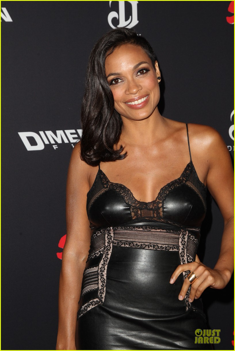 rosario dawson eva green sin city a dame to kill for premiere 133179469