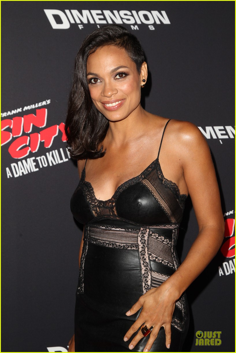 rosario dawson eva green sin city a dame to kill for premiere 143179470