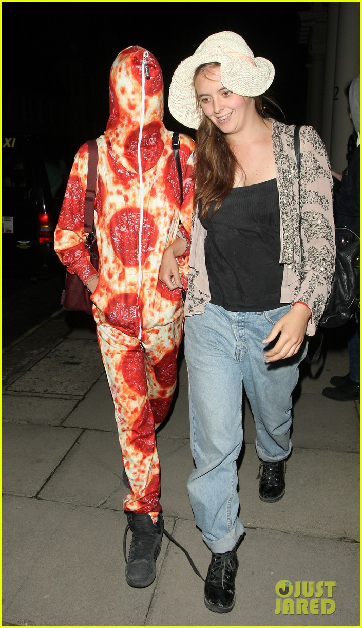 cara delevingne suki waterhouse bikini pepperoni pizza suit 353177488