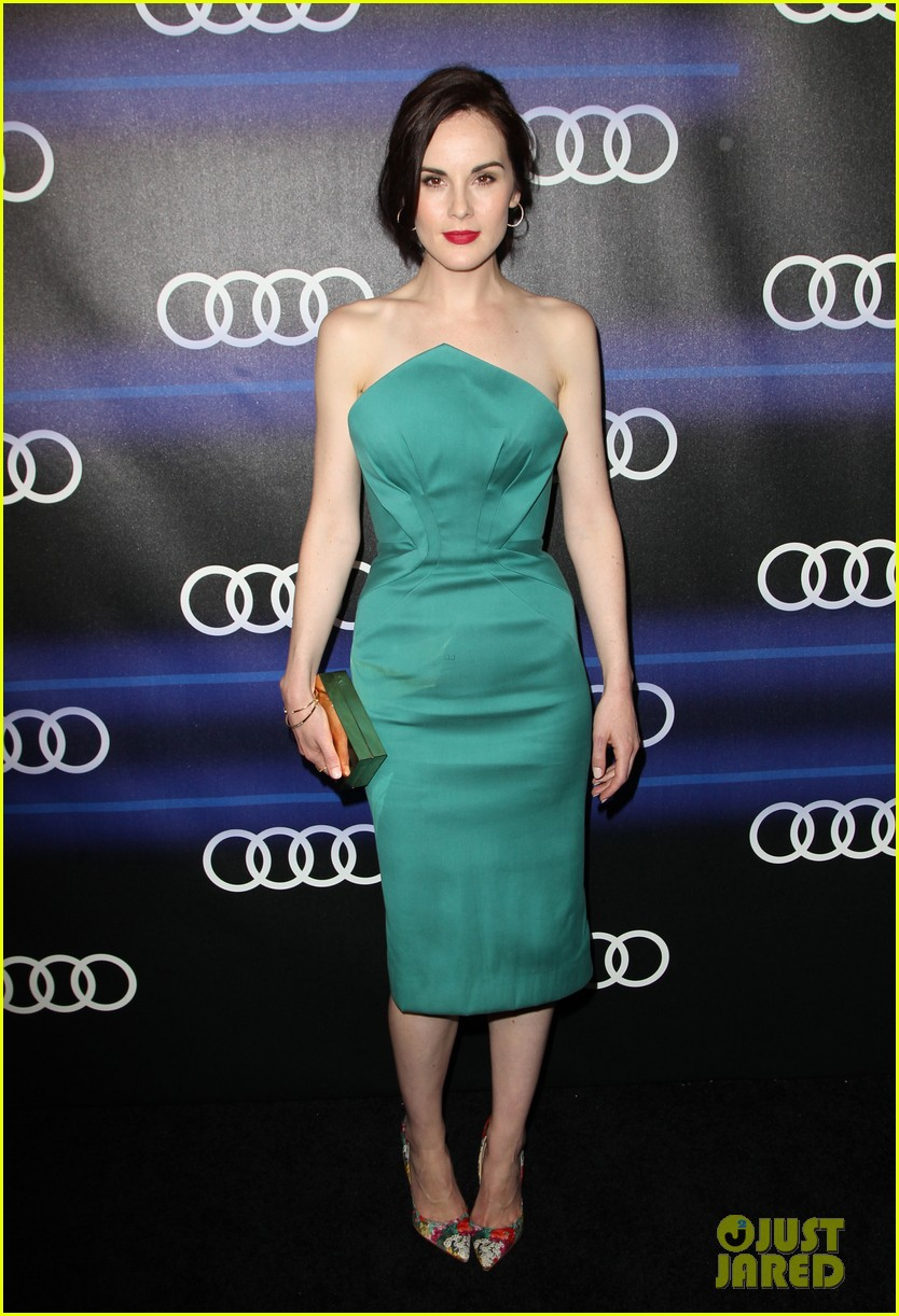 michelle dockery jessica pare audi emmys party 013180748