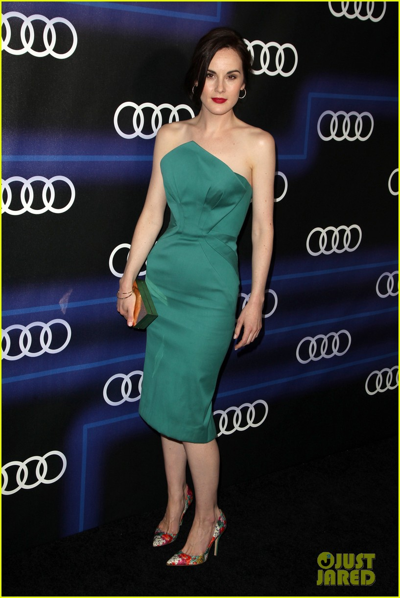 michelle dockery jessica pare audi emmys party 22