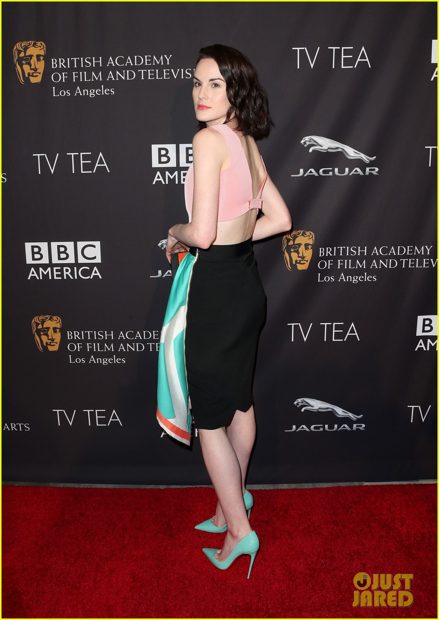 michelle dockery lizzy caplan bafta emmys party 113181745