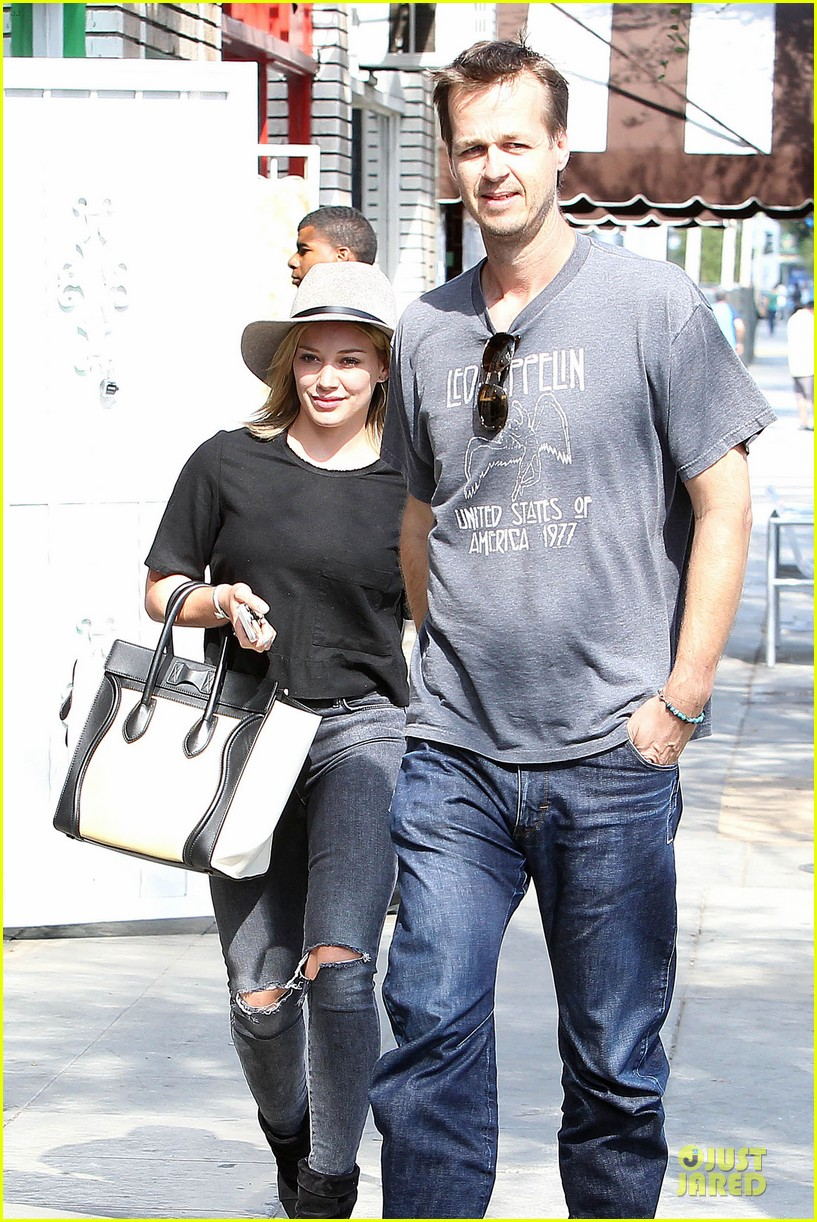 hilary duff looks happy after all about you lyric video drops 023179351