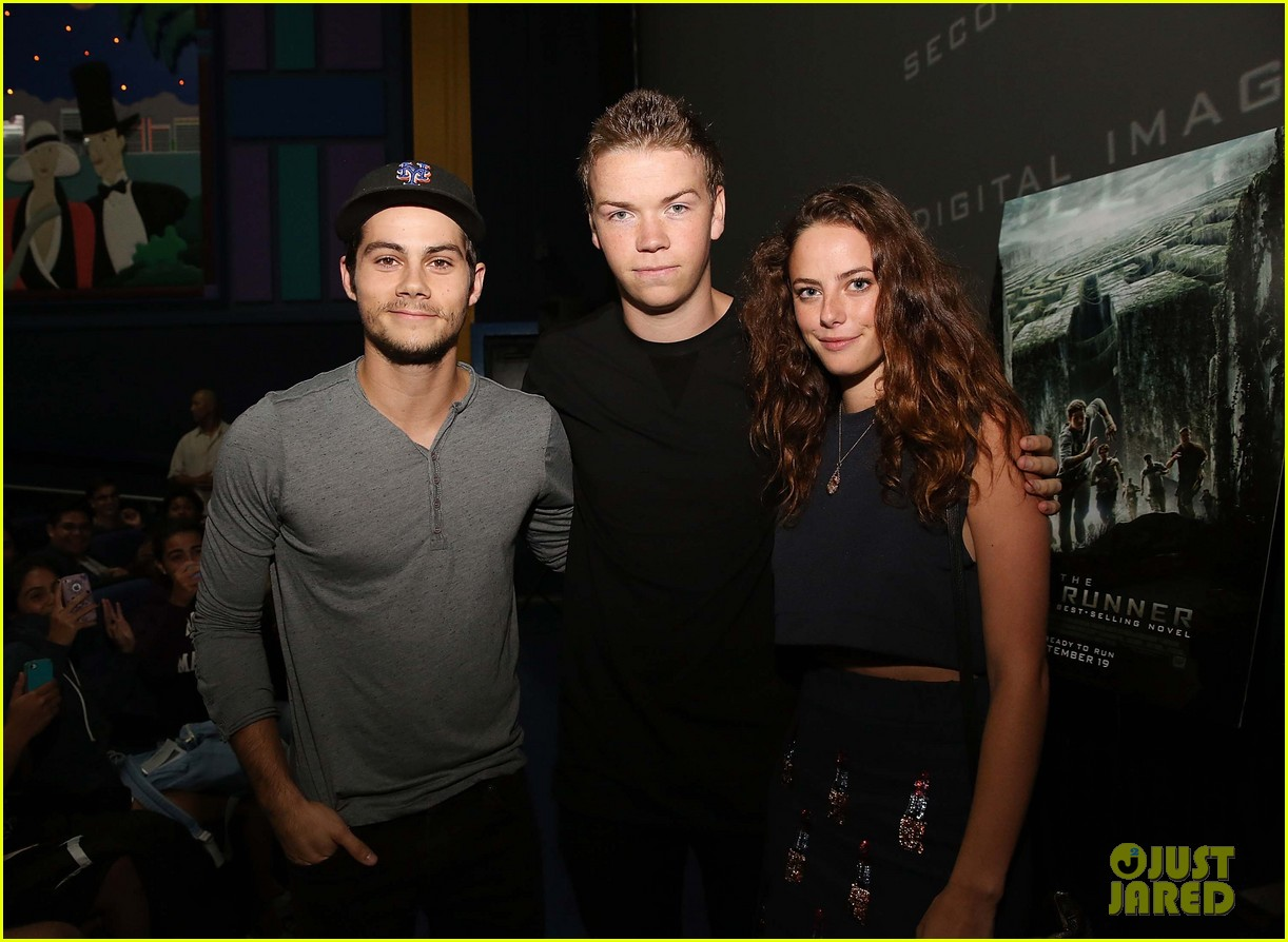 dylan obrien promotes the maze runner florida 123185174