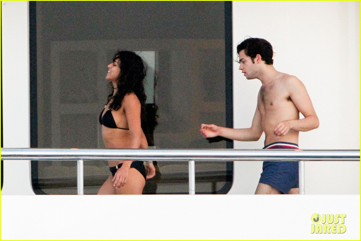 zac efron goes shirtless for jet ski fun with michelle rodriguez 173169342