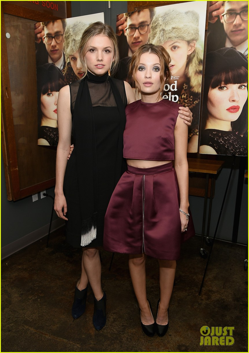 emily browning plum god help the girl nyc screening 063183818