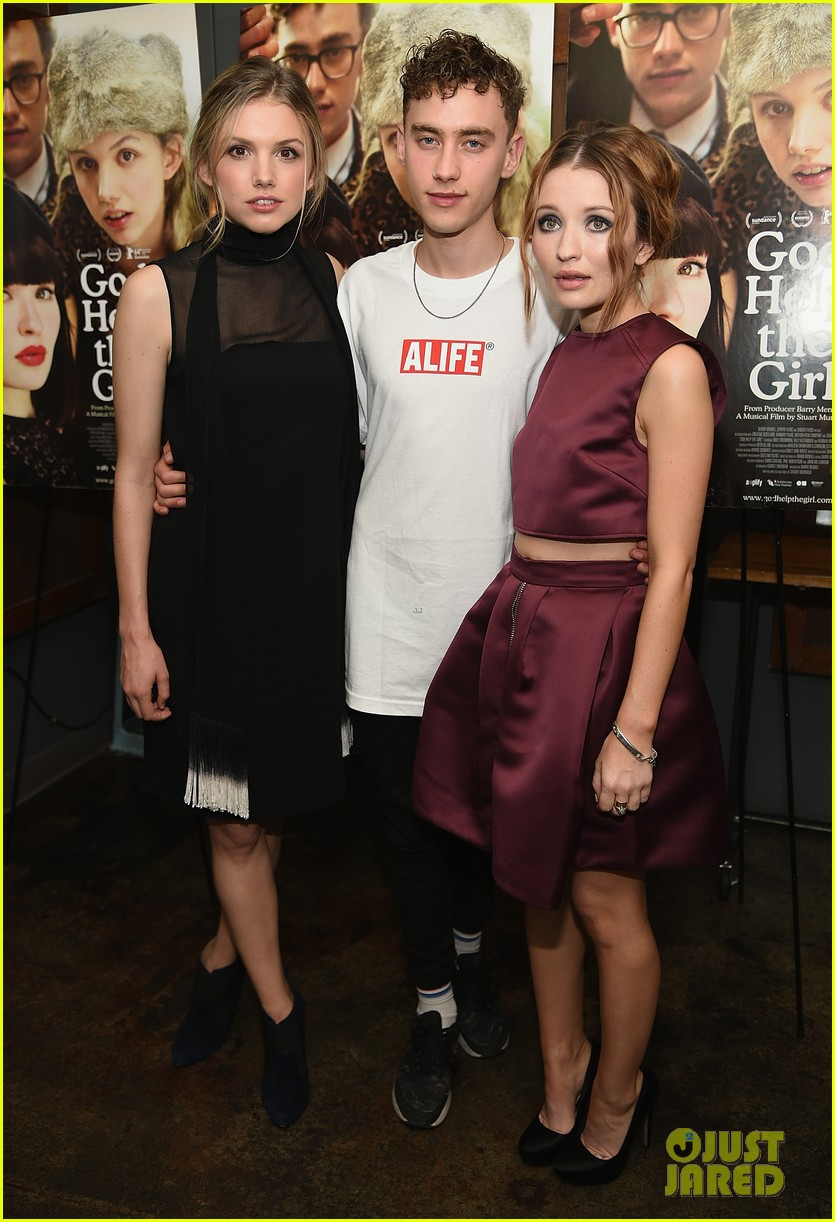 emily browning plum god help the girl nyc screening 093183821