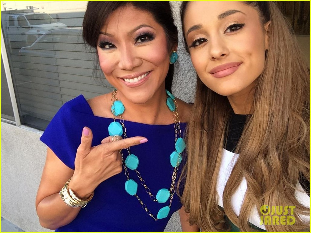 ariana grande visits big brother set to cheer on frankie3172767